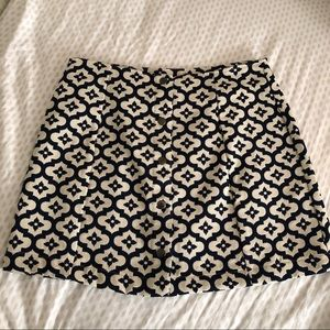 Snap button top shop skirt